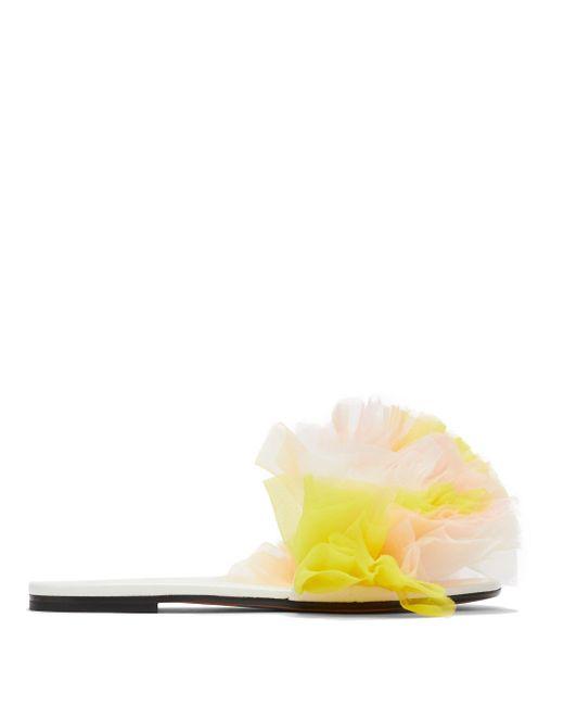Emilio Pucci X Tomo Koizumi チュールサンダル Multicolor