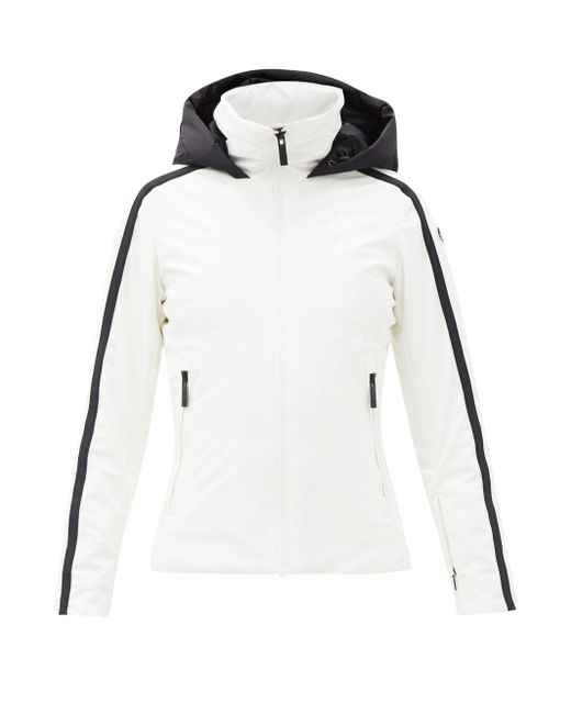 Fusalp シドニー ストライプ スキージャケット White