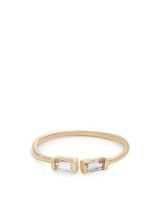 Loren Stewart - Metallic Sapphire & Yellow Gold Ring - Lyst