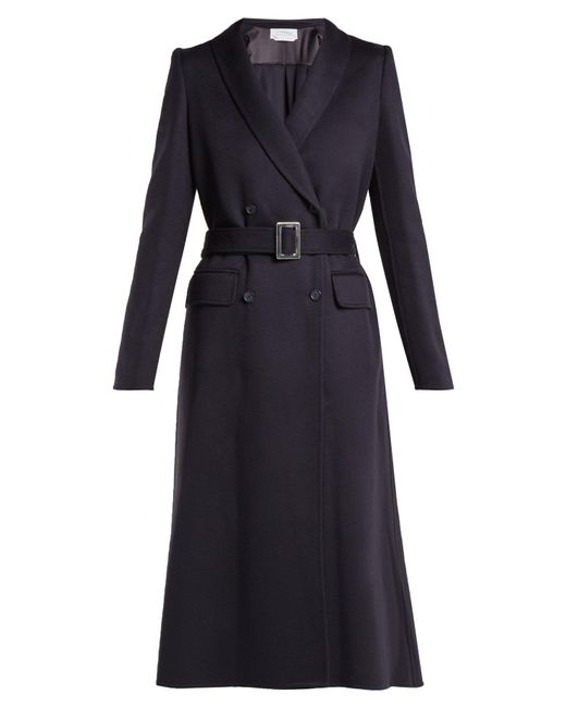Gabriela Hearst - Blue Joaquin Double Breasted Cashmere Coat - Lyst