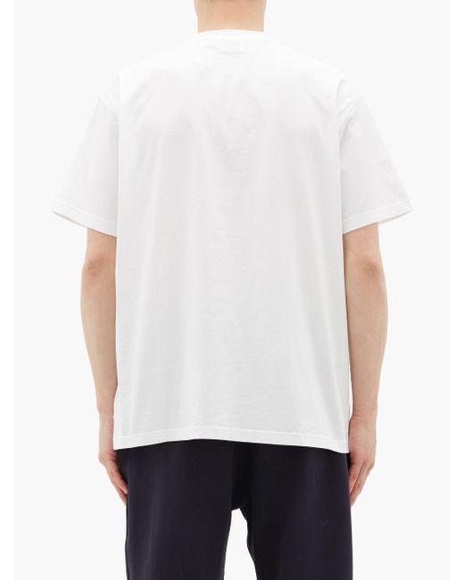 メンズ Burberry エマーソン Tb コットンtシャツ White