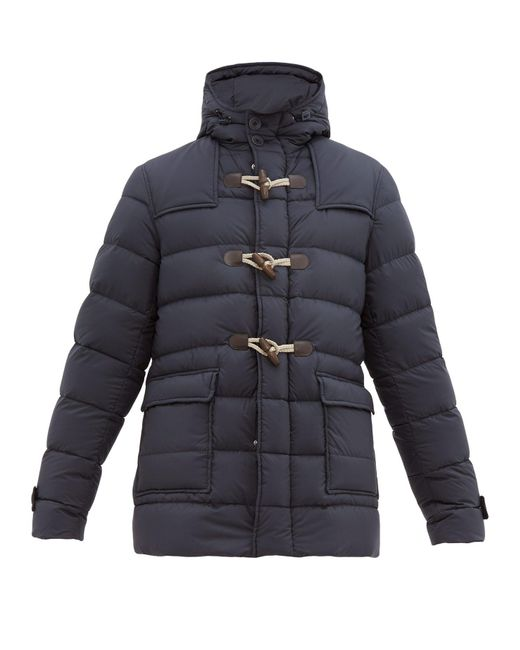 best service c235a 76268 Men's Blue Il Montgomery Quilted Down Jacket