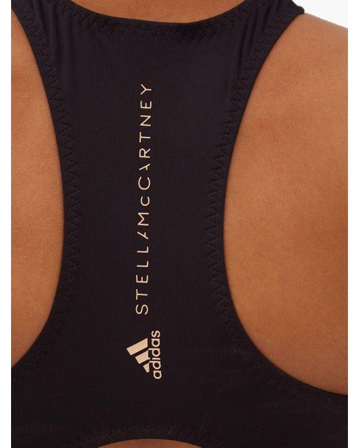 Adidas By Stella McCartney トゥルーパーパス レーサーバック ビキニトップ Black