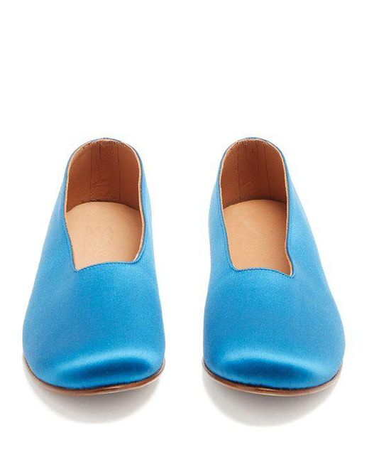 Martiniano Glove satin flats Sale 2018 Where To Buy Cheap Real Clearance Affordable Ebay Cheap Online Outlet Really OSGUHgTO