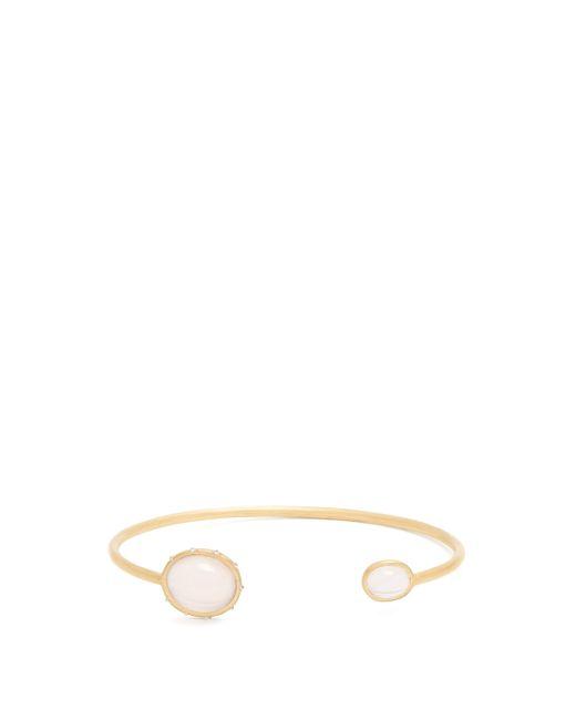 Susan Foster Metallic Diamond & 18kt Gold Bracelet