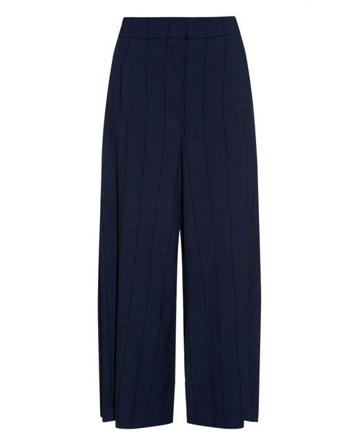 Proenza Schouler | Blue Wide Leg Culottes | Lyst