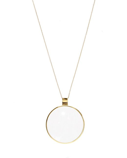 DINA KAMAL DK01 | Yellow-gold Loupe Necklace | Lyst