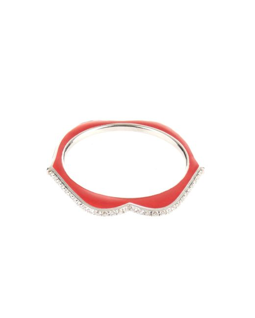 Raphaele Canot | Metallic Omg! Diamond, Enamel & White-gold Ring | Lyst