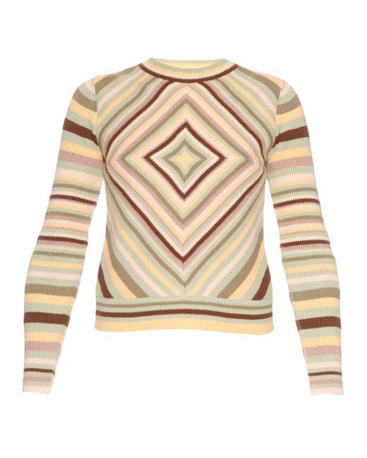 Valentino | Multicolor Native Couture 1975-print Crew-neck Sweater | Lyst