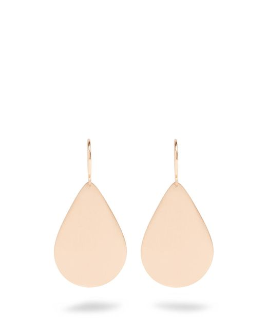 Irene Neuwirth | Metallic Rose-Gold Earrings | Lyst