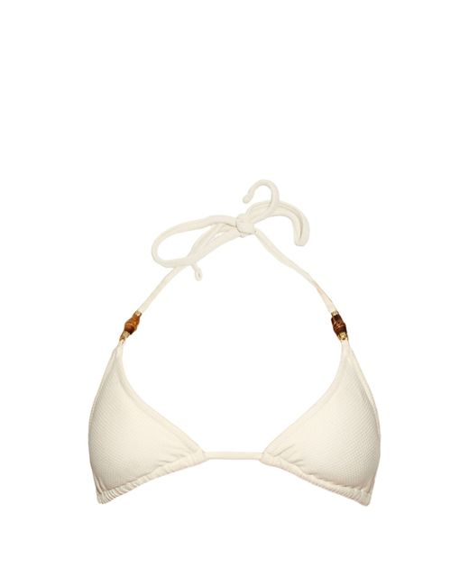 Heidi Klein | Natural Tahiti Triangle Bikini Top | Lyst