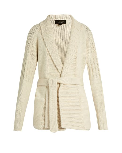 Burberry Wool Cashmere Knit Cardigan Coat 6