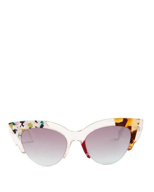 5a205b2c4fb5 Fendi Women s Cat Eye Sunglasses
