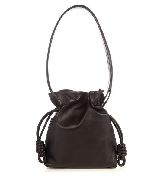 Loewe   Black 'small Flamenco Knot' Shoulder Bag   Lyst