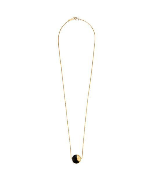 Isabel Marant | Black Piece On Earth Bauble Pendant Necklace | Lyst