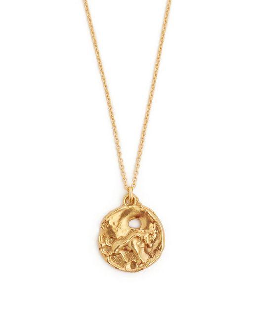 Alighieri Metallic Taurus Gold Plated Necklace