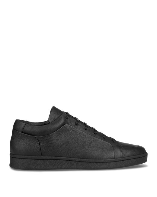 balenciaga low top leather trainers in black for men lyst. Black Bedroom Furniture Sets. Home Design Ideas