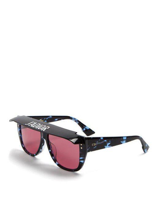 DiorClub2 square-frame visor sunglasses Dior okzhUd
