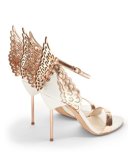 Sophia Webster Evangeline Angel Wing Sandals Lyst