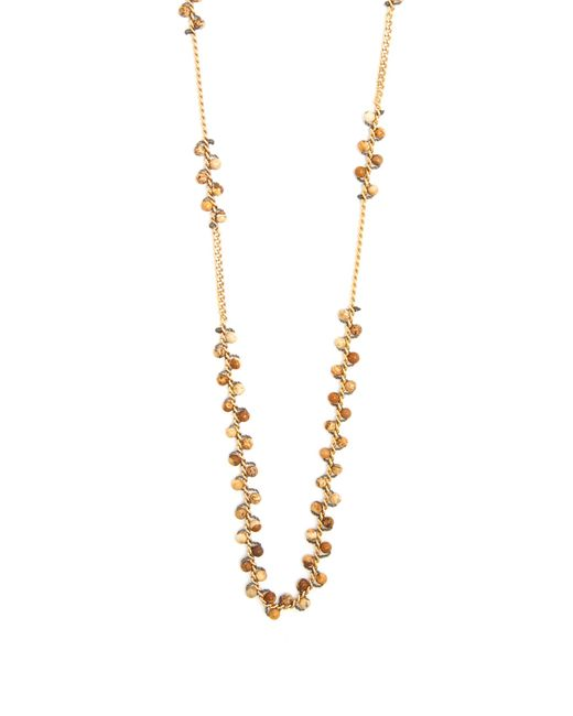 Isabel Marant   Brown Perky Sautoir Long Necklace   Lyst