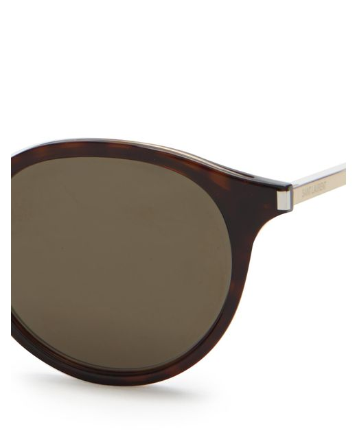 a64a40ebd5a Saint Laurent Mens Round Sunglasses