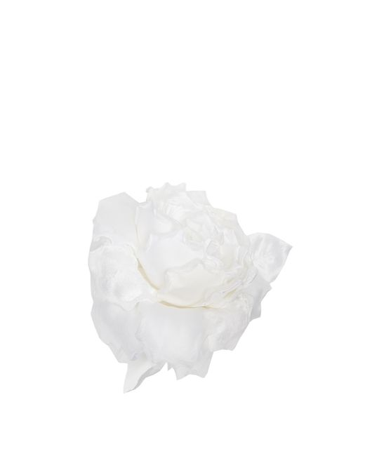 Racil | White Country Rose Brooch | Lyst