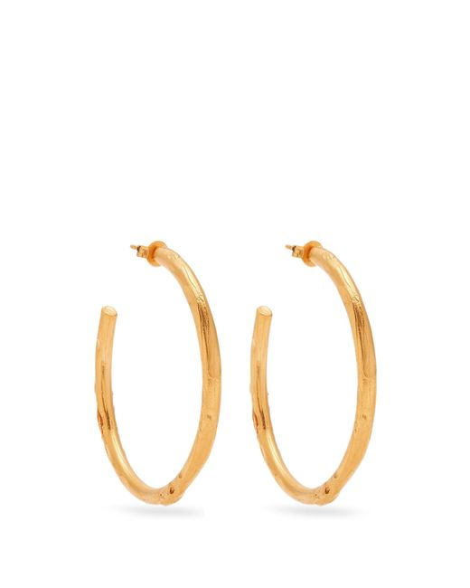 Alighieri | Metallic No Lie Gold-plated Earrings | Lyst