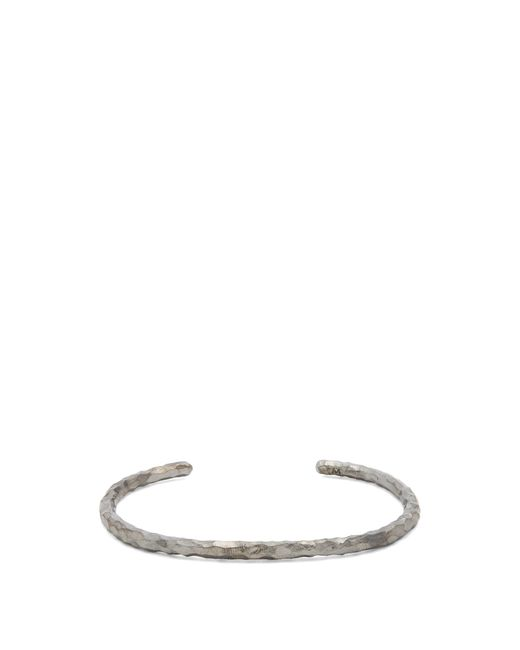 All_blues | Metallic Hungry Snake Ruthenium-plated Cuff for Men | Lyst