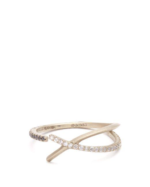 Monique Péan   Metallic Diamond & White-gold Ring   Lyst