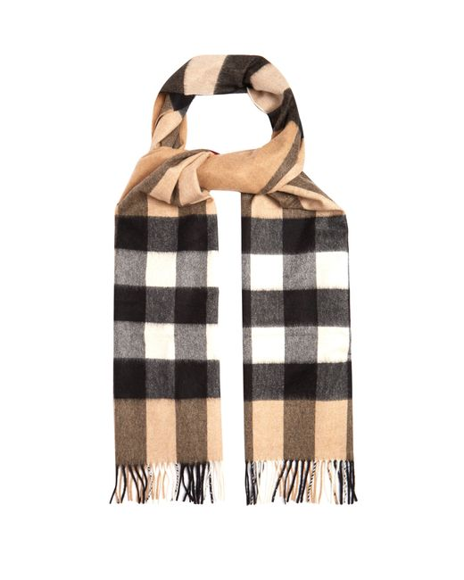 Burberry - Multicolor Cashmere Scarf for Men - Lyst