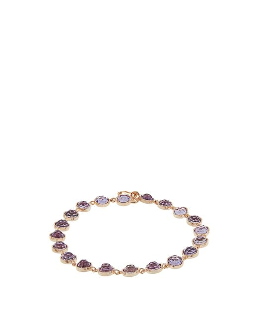 Irene Neuwirth | Multicolor Rose De France Amethyst & Rose-gold Bracelet | Lyst