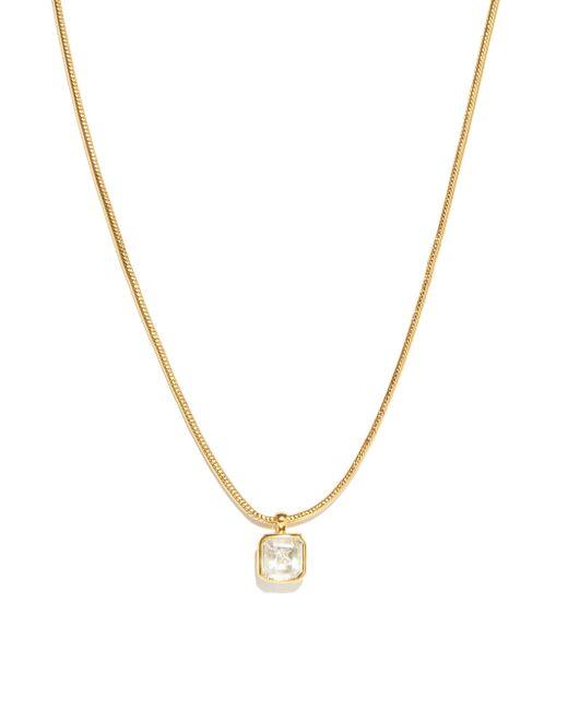 Theodora Warre クォーツクリスタル&ダイヤモンド ネックレス Metallic