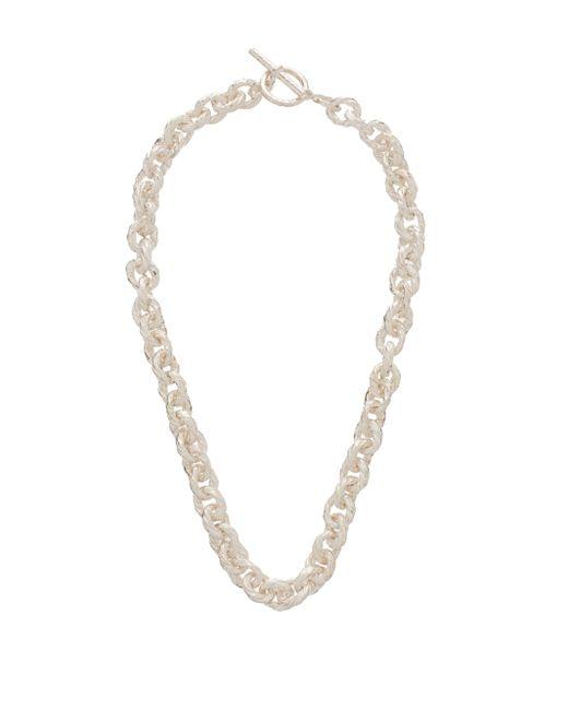 Collier chaîne en argent sterling texturé Pearls Before Swine pour homme en coloris Multicolor