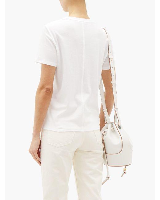 The Row ウェスラー コットンtシャツ White