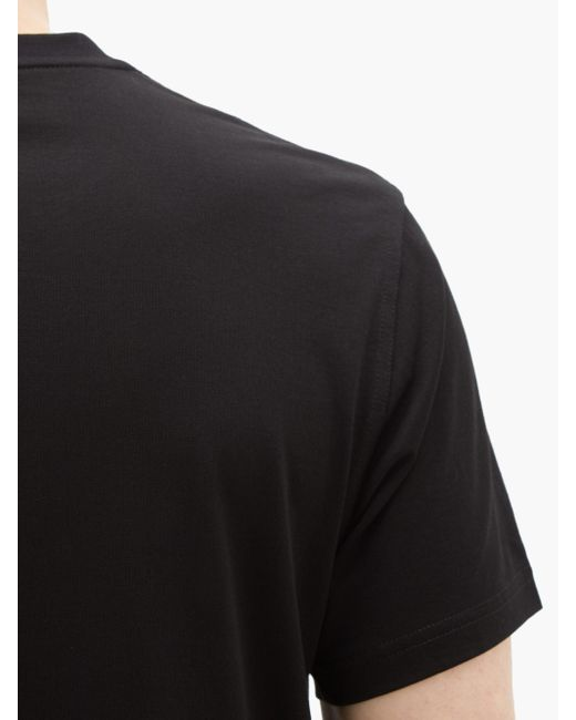メンズ Burberry Tbモノグラム コットンtシャツ Black
