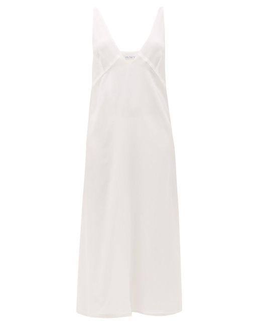 Raey シルククレープデシン スリップドレス White