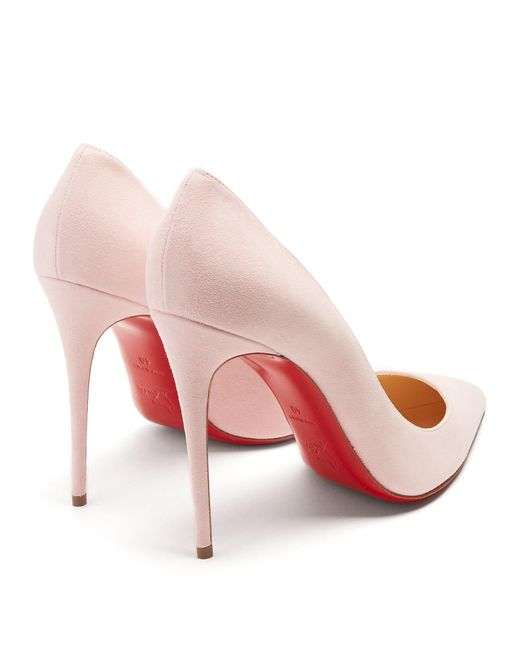 check out a93a1 d4b7b Women's Pink Pigalle Follies 100mm Suede Pumps