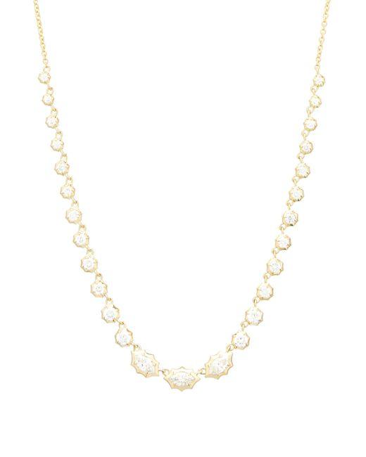 Jade Trau マーヴェリック リヴィエラ ダイヤモンド 18kゴールドネックレス Multicolor