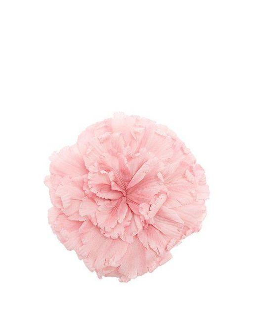 Gucci - Pink Flower Brooch - Lyst