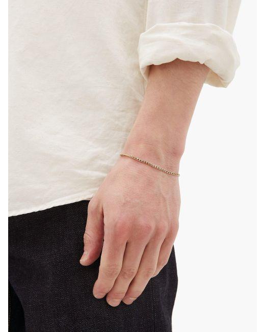 Ensemble collier et bracelet en vermeil Miansai pour homme en coloris Multicolor
