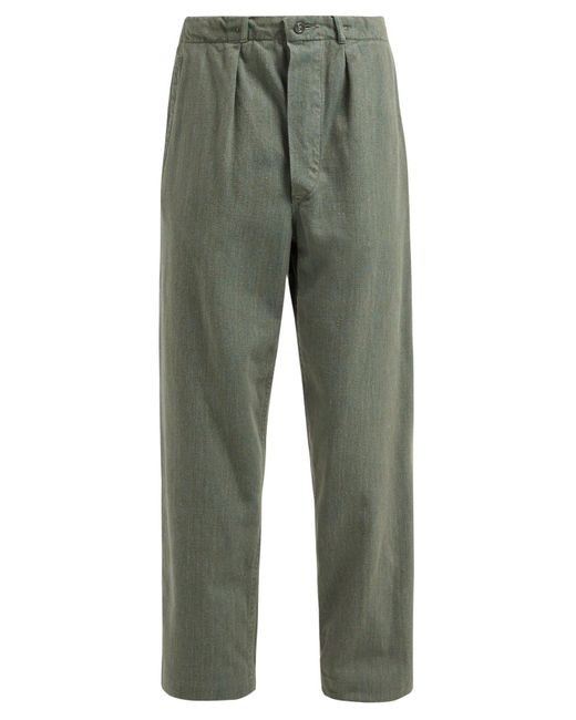 MYAR Green Sep70 Cotton Military Trousers