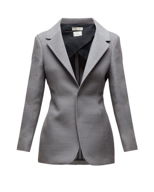 Bottega Veneta シングルジャケット Gray