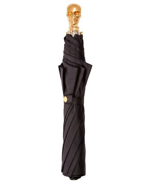 Alexander McQueen   Black Skull Foldable Umbrella   Lyst