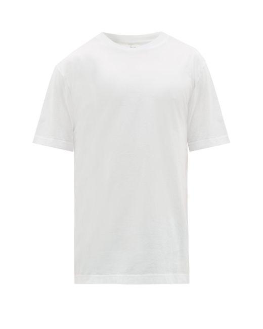 メンズ Acne エベレスト コットンtシャツ White