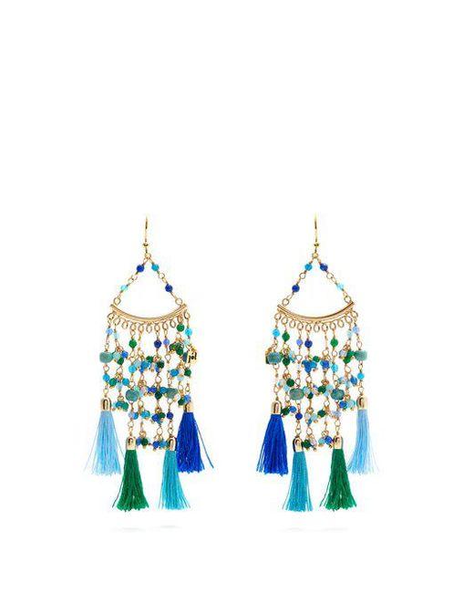 Rosantica By Michela Panero - Blue Kilimangiaro Multi-stone Earrings - Lyst