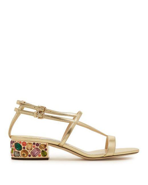 Maeve 35 metallic crystal embellished sandals Jimmy Choo London JexJ70Jwq