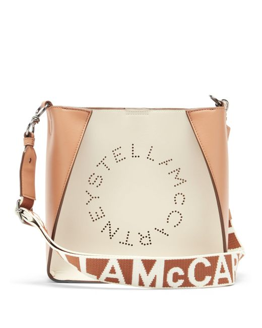 Stella McCartney ステラ スモール バイカラー フェイクレザーバッグ Multicolor