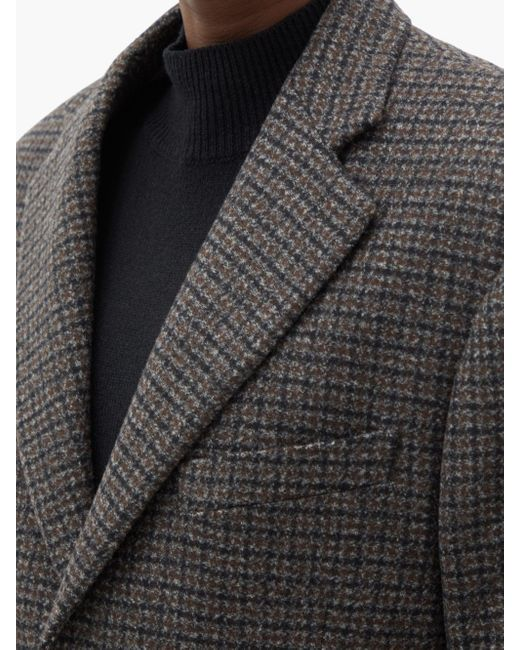 Raf Simons オーバーサイズ ウールブレンドシングルジャケット Multicolor