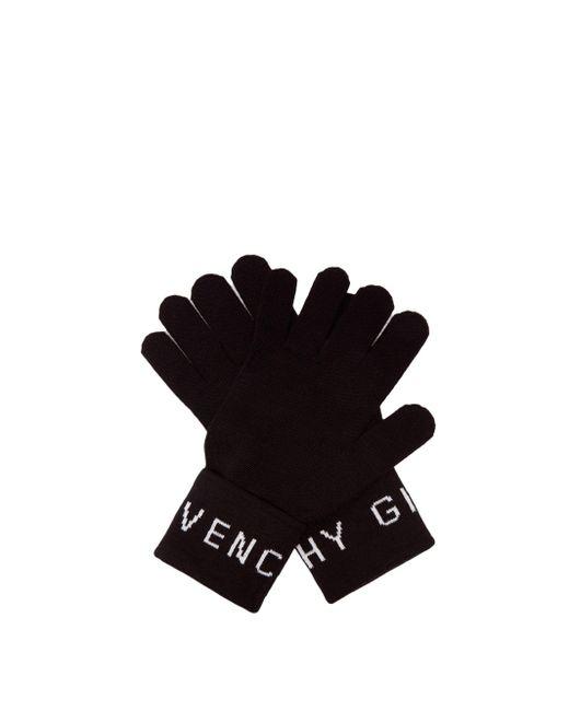 メンズ Givenchy ウールグローブ Black
