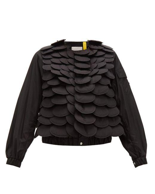 6 Moncler Noir Kei Ninomiya フィッシュスケール ボンバージャケット Black